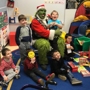 The Grinch Brings Holiday Cheer
